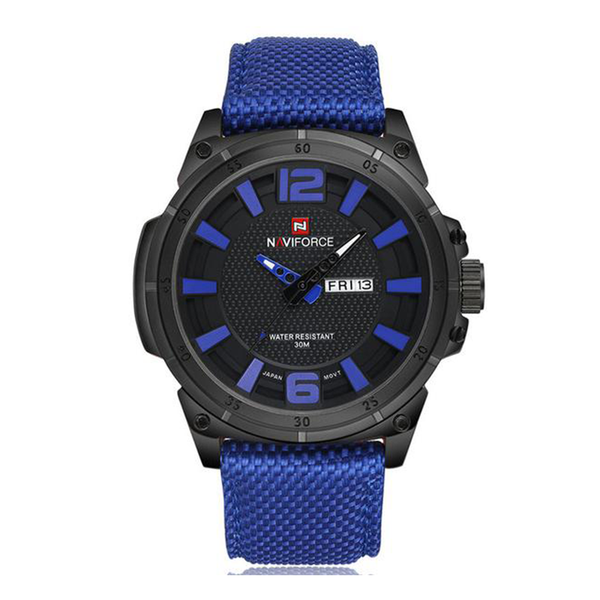 WW0562 Naviforce Day Date Belt Watch