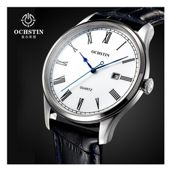 WW1021 Ochstin Date Leather Belt Watch