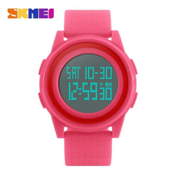 WW1128 SKMEI Dual Time Digital Fiber Belt Watch 1206