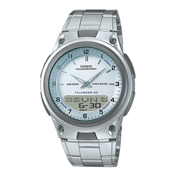 WW0129 Casio Youth Dual Time Chain Watch AW-80D-7AV