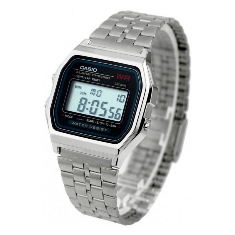 WW1063 Casio Classic Digital Chain Watch A159WA-N1