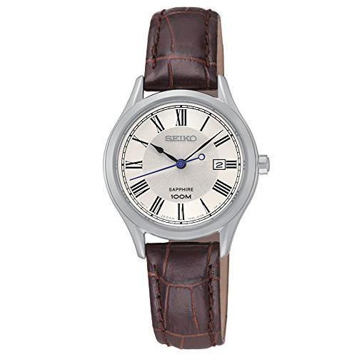 WW0945 Seiko Leather Date Belt Watch SXDG21P1