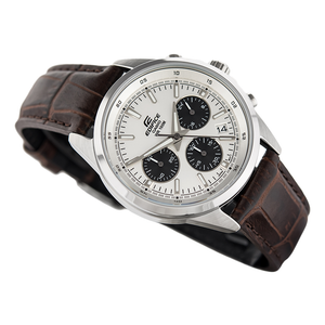 WW0050 Casio Edifice Chronograph Leather Belt Watch EFR-527L-7AV