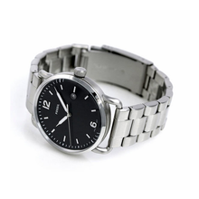 WW0150 Fossil Commuter Stainless Steel Date Chain Watch FS5391