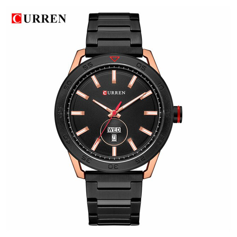WW0546 Curren Day Date Chain Watch