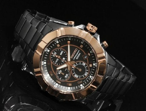 WW0848 Seiko Chronograph Chain Watch SNDD78P1