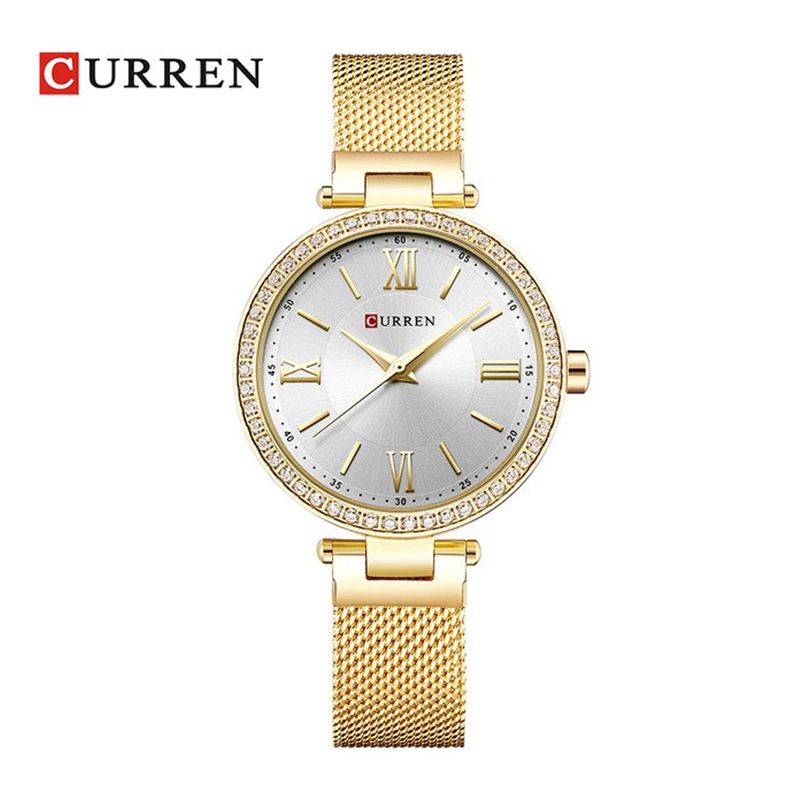 WW0193 Curren Ladies Mesh Chain Watch