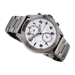 WW0132 Tommy Hilfiger Multifunction Gunmetal Steel Watch 1791341