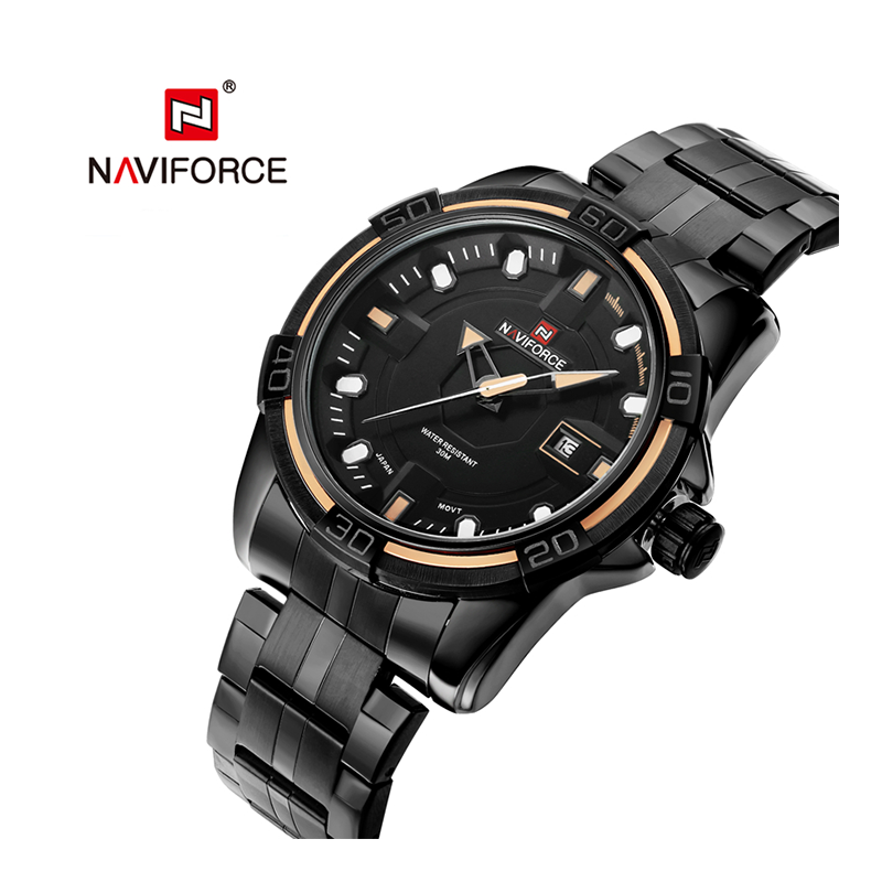 WW0031 Naviforce Date Chain Watch