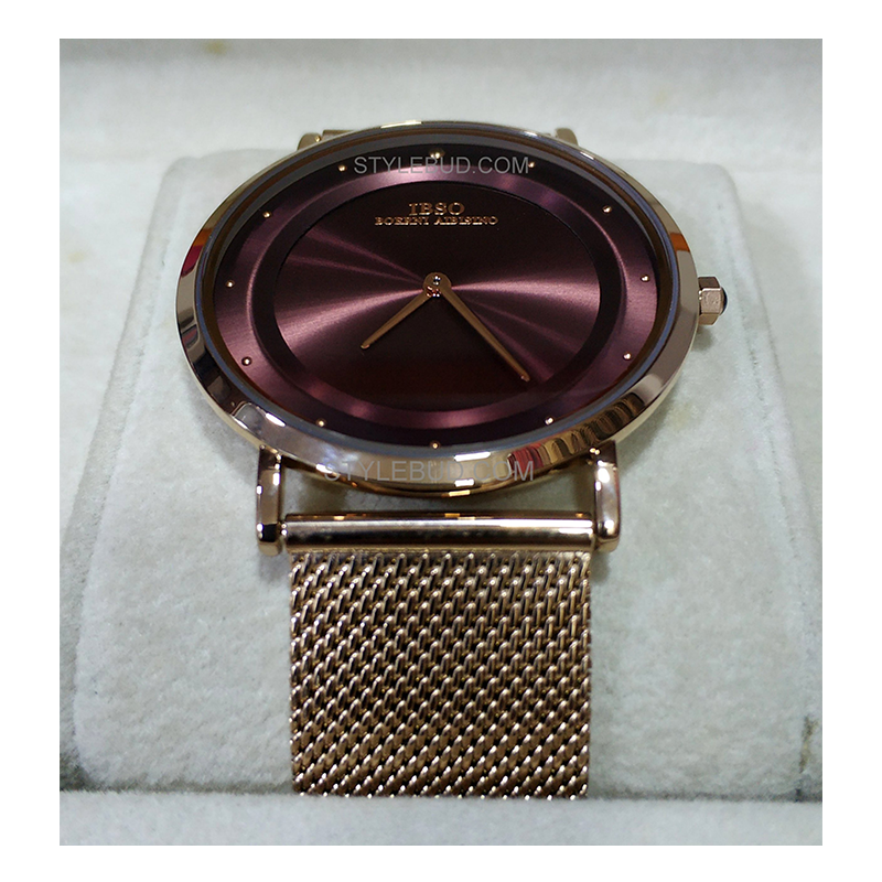 WW0543 IBSO Slim Mesh Chain Watch S8269G