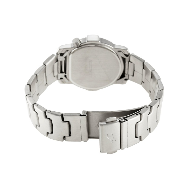 WW0709 Fastrack Stainless Steel Date Chain Watch 1161SM02