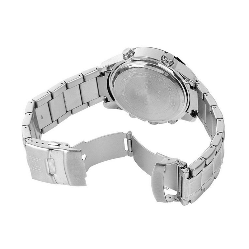 WW1038 Naviforce Dual Time Chain Watch NF9050M