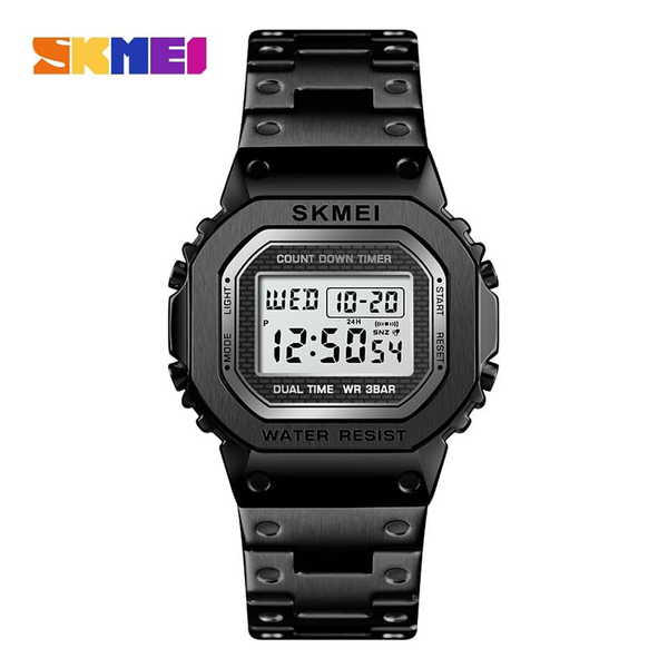 WW1167 SKMEI Dual Time Digital Chain Watch 1456