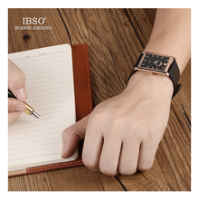 WW0272 IBSO Slim Leather Belt Watch