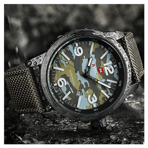 WW0061 Naviforce Camouflage Date Belt Watch