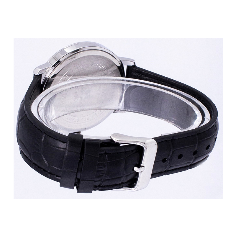 WW0113 Casio Enticer Date Leather Belt Watch MTP-E149L-1BV