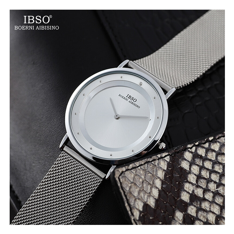WW0055 IBSO Slim Mesh Chain Watch S8269G