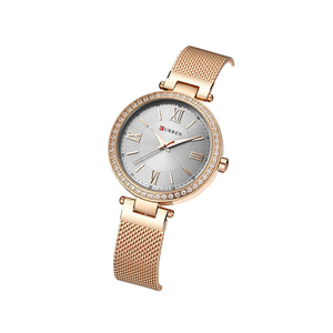 WW0192 Curren Ladies Mesh Chain Watch