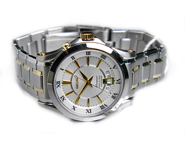WW0850 Seiko Premier Perpetuar Chain Watch SNQ116P1