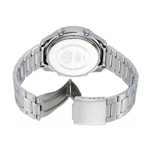 WW0111 Casio Stainless Steel Analog Digital Chain Watch AMW-830D-2AV
