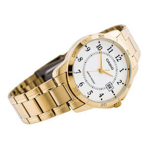 WW0104 Casio Date Chain Watch MTP-V004-7B