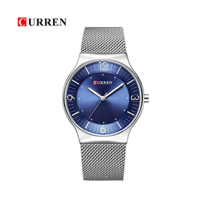 WW0161 Curren Slim Mesh Chain Watch