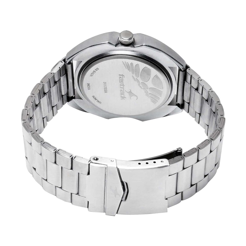 WW0719 Fastrack Stainless Steel Chain Watch 3117SM01