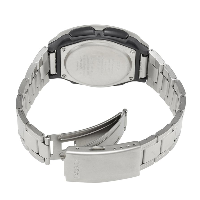 WW0456 Casio Youth Dual Time Chain Watch AW-81D-1AV