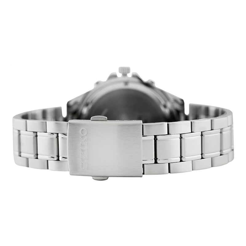 WW0147 Seiko Chronograph Stainless Steel Chain Watch SKS625P1