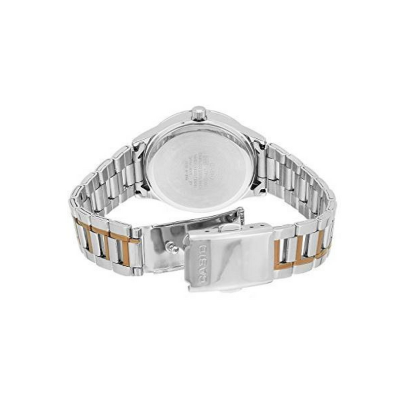 WW1196 Casio Enticer Multifunction Ladies Chain Watch LTP-E306RG-2AV