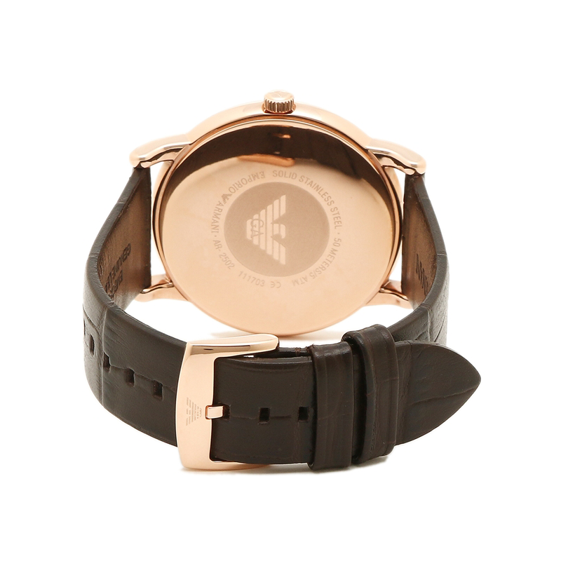 WW0130 Emporio Armani Luigi Leather Belt Watch AR2502