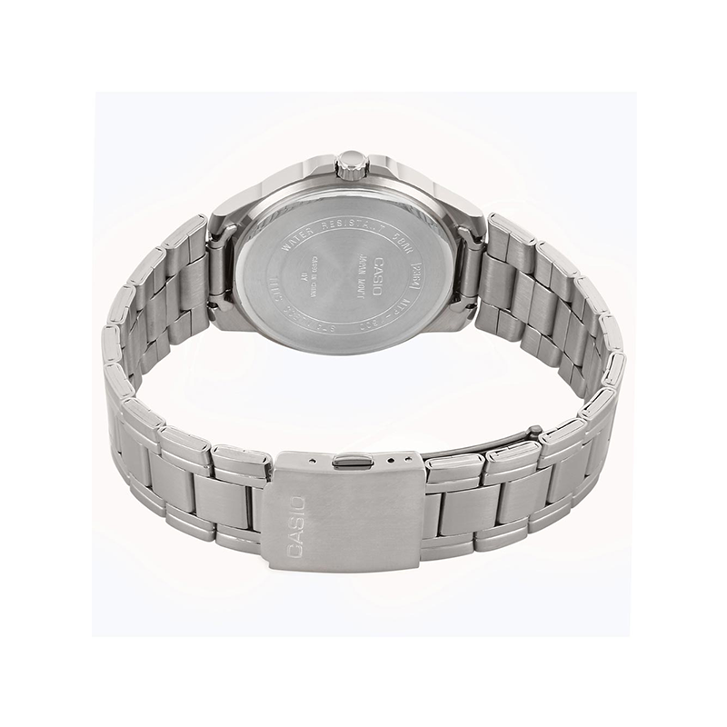 WW0086 Casio Enticer Day Date Chain Watch MTP-1300D-1AV