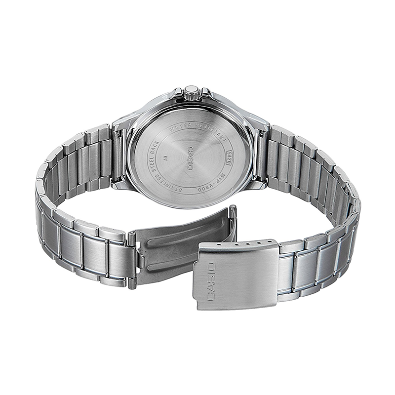 WW0153 Casio Multi Hands Chain Watch MTP-V300D-1AV
