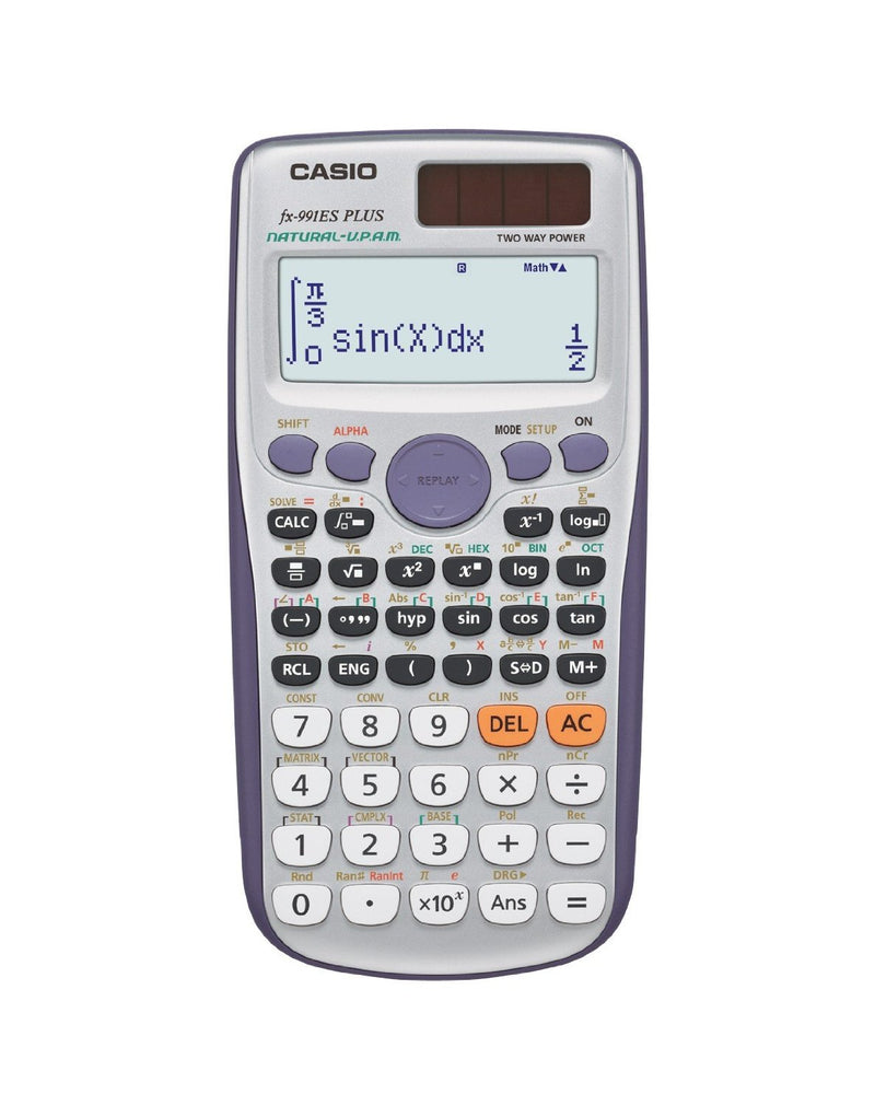 CAL0002 Casio Natural Display Scientific Calculator fx-991ES PLUS