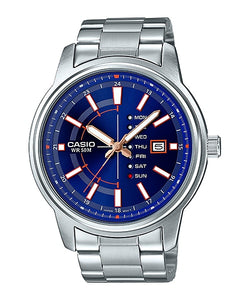 WW1069 Casio Enticer Day Date Watch MTP-E128D-2AV