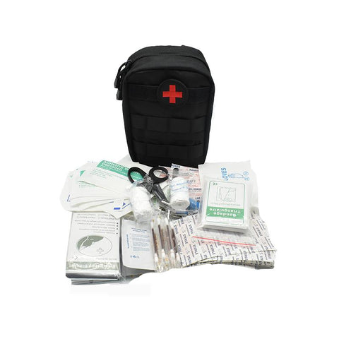 103 Piece First Aid Kit - Emergency Survival First Aid Molle Bag