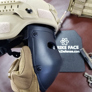 Bulletproof Mask for Helmets | Ballistic Facemask for Sale | Level IIIA+ | Padded | Milspec ✅