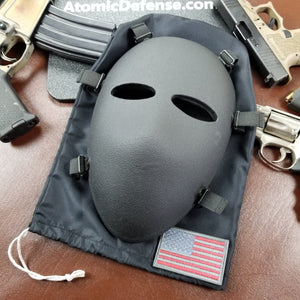 Bulletproof Mask | Ballistic Full Face | Level IIIA+ | Padded | Milspec ✅ - Atomic Defense