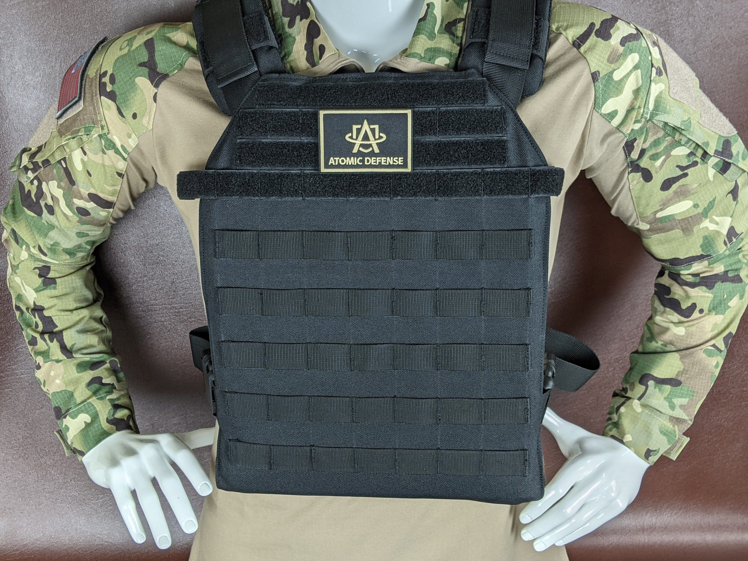 11x14 Armor Plate Carrier with IIIA Plates - Atomic Defense