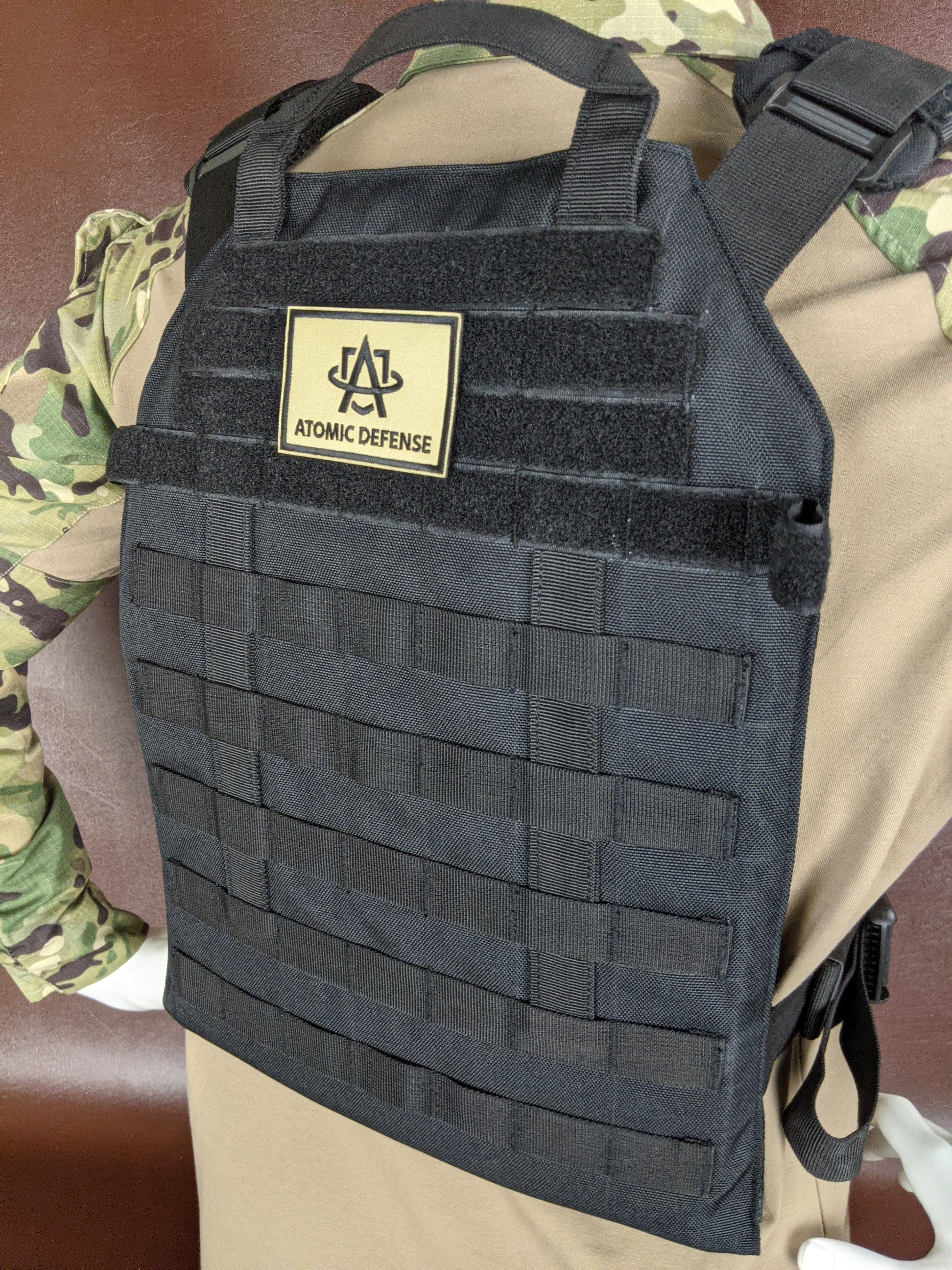 10x12 Armor Plate Carrier with IIIA Plates - Atomic Defense