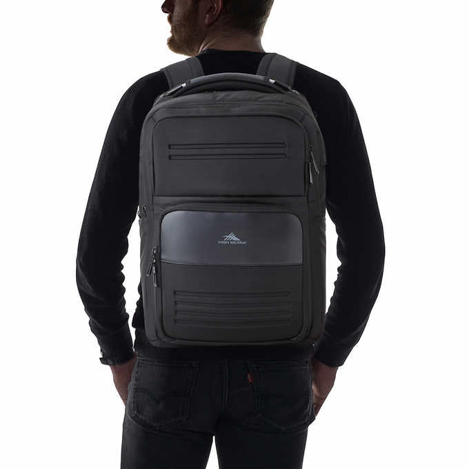 High Sierra Elite Pro Business Bulletproof Backpack for School and Work - NIJ IIIA, NIJ III, NIJ IV