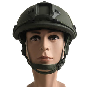 NIJ IIIA Fast Style Bulletproof Helmet with Rails - Ballistic Helmet - Color Options - Atomic Defense