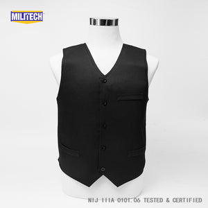 NIJ IIIA 3A and Level 2 Stabproof Kevlar Bulletproof Vest - Dress Vest - Atomic Defense