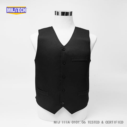NIJ IIIA 3A and Level 2 Stabproof Kevlar Bulletproof Vest - Dress Vest