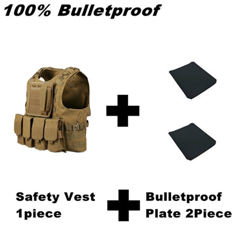 NIJ Level IV ICW IIIA Bulletproof Vest and Plate Carrier