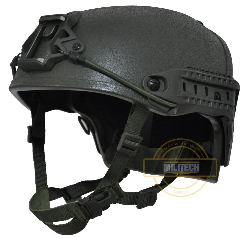 M/LG NIJ IIIA Air Frame Bulletproof Helmet Ballistic | Advanced Combat Helmet Rail System - Atomic Defense
