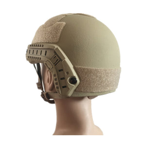 NIJ IIIA FAST Bulletproof Helmet and Visor Set Combo Sale Ballistic Helmet Bullet Proof Mask - Atomic Defense