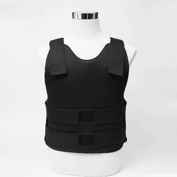 Concealed NIJ IIIA Bulletproof Vest - White or Black - Atomic Defense
