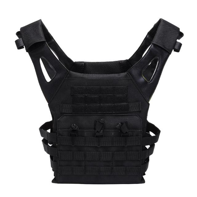 Special Ops Molle Vest - Tactical Fast Plate Carrier - Atomic Defense