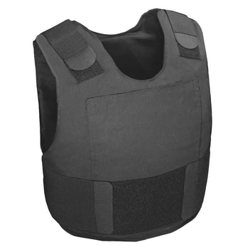 Standard Police and Security IIIA Vest - Plate Insert Pouches - Atomic Defense